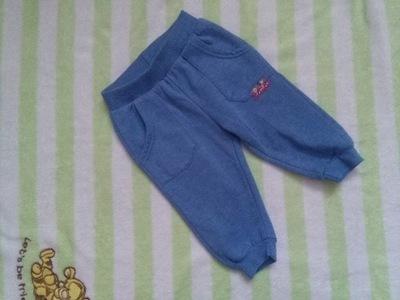 96ba04ffcd Spodnie Dresowe Pepco Niebieskie Misie 12-18 86 - 6779346960 ...