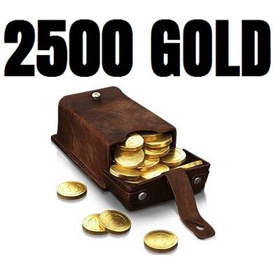 2500 GOLD DUBLONY WOT WORLD OF TANKS