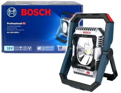 ЛАМПА аккумуляторная 14 ,4В 18V GLI 18V-2200 C Bosch