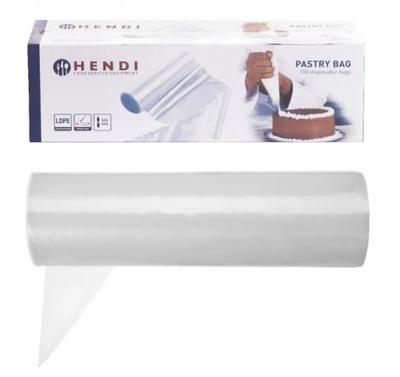 мешки КОНДИТЕРСКИЕ изделия одноразовые 44 ,5x22cm Hendi 100