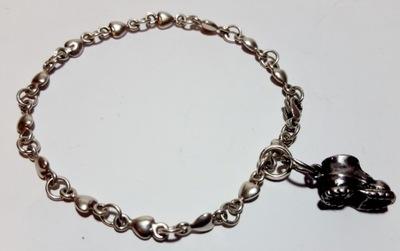 branso;летка серебро 925, кулон ботинок