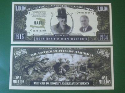 ??? Банкноту One Million Dollars Оккупация Гаити