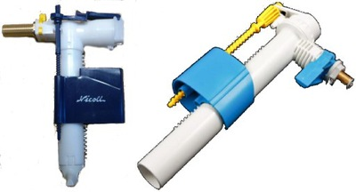 Koliesko ventil pre plnenie 3/8 krídlovky flush montáž
