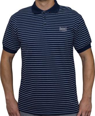 Koszulka Polo LONSDALE paski tu - M - inne S - XL