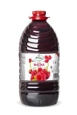 Herbapol SYROP MALINA MAX - 5 litrów