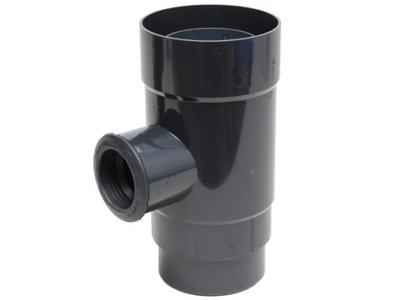 Catcher / zberač dažďovej vody 110 mm grafit