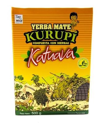 Yerba Mate Kurupi Katuava и Буррито 500?