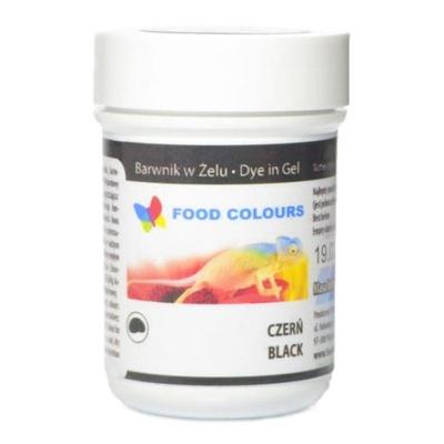 Food Colours Краситель пищевой в желе Черный , 35 Г