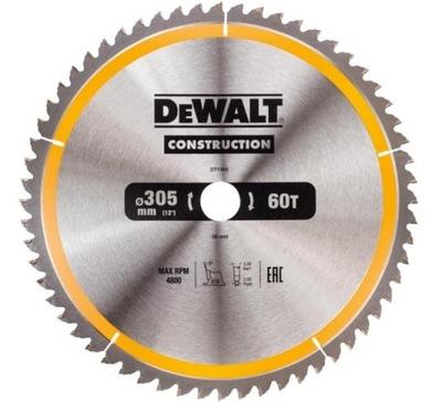 DeWALT DT1960 štít drevo videl 305mm 60z/30mm