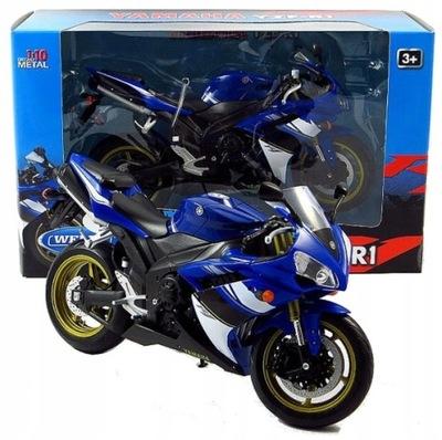 YAMAHA YZF-R1 Модель Мотоцикла Масштаб 1 :10 Welly