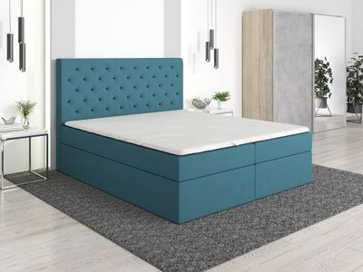 кровать РИВА-мягкая каркас + матрас 200x200