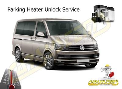 VW T6 изменить dogrzewacz Webasto в полноценный отопление