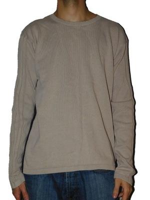 Armani sweter męski rozmiar XXL beżowy