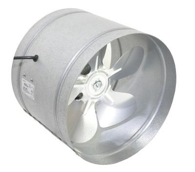 Ventilátor - Priemyselný oceľový ventilátor D-160 mm