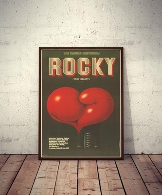 Постер фильма РОККИ - S . Сталлоне Бальбоа перчатка