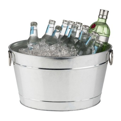 Nádoba na ľad chladič veľké, 18 L, ocele.