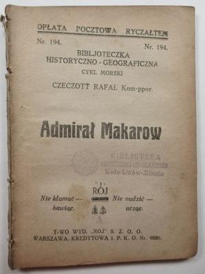Адмирал Макаров, командир лейтенант Рафал Czeczott 1932