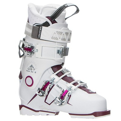Buty narciarskie Salomon QST Pro 130 TR Czerwony 2