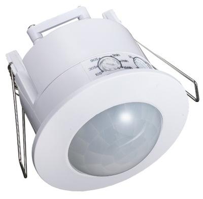 ДАТЧИК движения потолок для СТРОИТЬ - LED 360 Белый