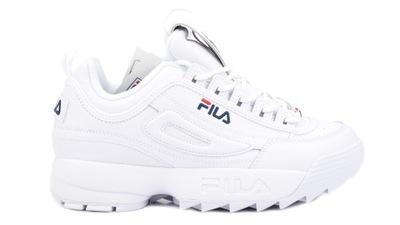 FILA DISRUPTOR II buty damskie rozmiar 36 białe Zielona Góra