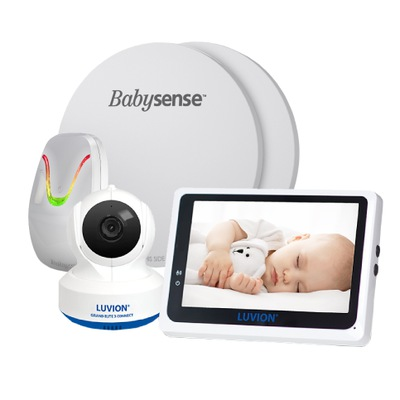 Dýchanie monitor Babysense 7 + Luvion Grand Elite 3