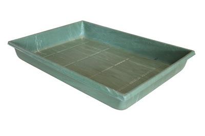Ванна кювета 64x45x8 для голубей, уток, кроликов