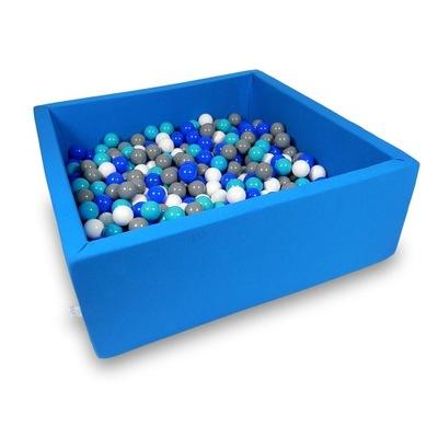 Сухой бассейн манеж для игры 110х110 + шарики 600 штук