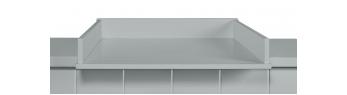 Novelies Allpin prebaľovací stôl na bielizníka šedá