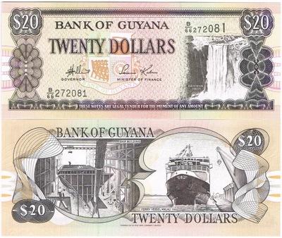 Гайана 20 $ P-24 UNC