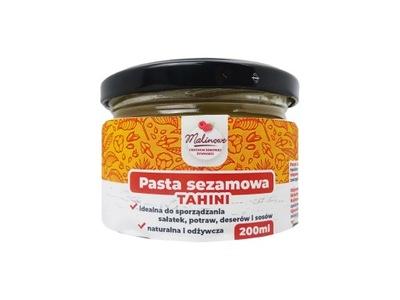 ТАХИНИ - 100 % паста из кунжута 200 г сливочное МАСЛО кунжутное
