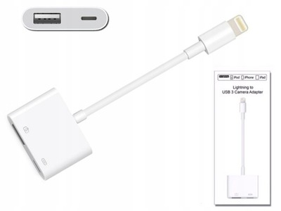Adapter przejściówka Lightning do USB 3 Camera