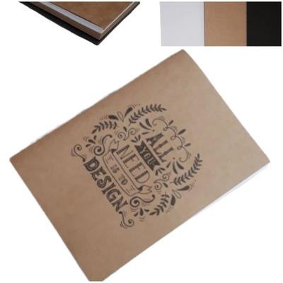 Альбом для рисования блок КРЕАТИВНЫЙ рисунок 3 цвета КАРТОЧЕК