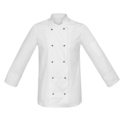 Bluza kucharska męska Greiff Cuisine Classic, czarna (krótki rękaw)