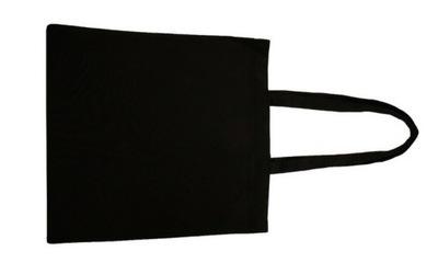 TORBA BAWEŁNIANA 38x42cm 220 g/m2 Kolor czarny