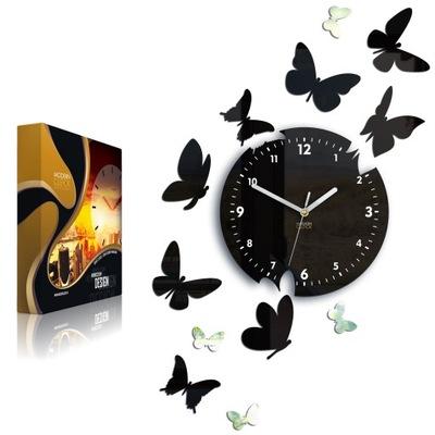 часы instagram бабочки 14 четкий и ТИХИЙ - зеркало