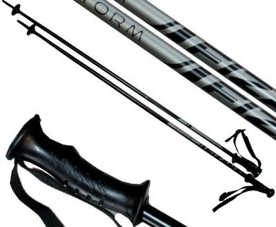 Kije kijki narciarskie FIZAN STORM 120 cm black