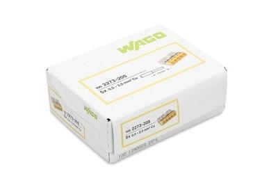 WAGO rýchly konektor PRE kábel 5x2,5 2273-205 100 Ks