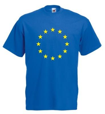 KOSZULKA męska UNIA EUROPEJSKA FLAGA XL