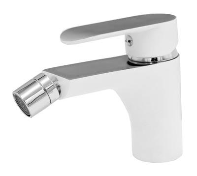 PICO WHITE BIDET BATTERY BATHROOM TAP