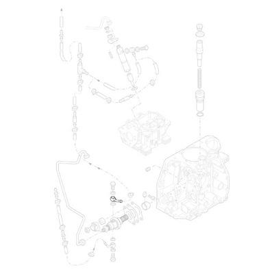 HATZ 05360100 Фланец топливного насоса 1D81 1D90