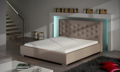 Łóżko Tapicerowane SAVANNA 180xx200 Poj.+Materac