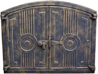 дверцы чугунные печи хлебные коптильня Гриль