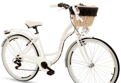 Rower miejski GOETZE Mood 28 damski Shimano kosz