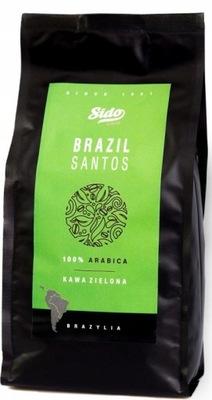 кофе зеленый ? зернах БРАЗИЛИЯ 1кг