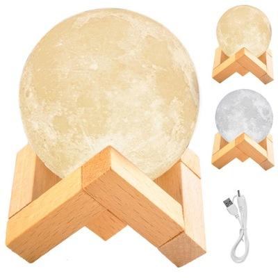 Светящийся Луна 3D лампа Ночная Лампа Moon Light
