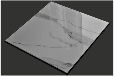 плитки Плитка керамогранит Белый Мрамор 60X60 CERAL