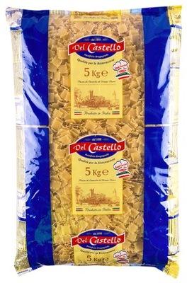Makaron Del Castello Łazankowy 5kg WŁOSKI
