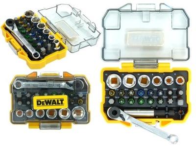 комплект бит и головок с трещоткой DeWalt DT71516
