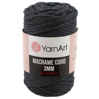 шнурок YarnArt | Macrame Шнур 3мм | Цвет 758