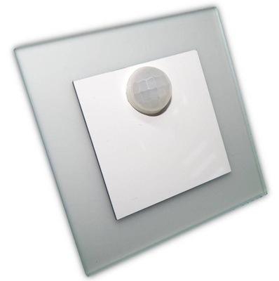 Pevné vchod s pohybový senzor LED 230v BIELA